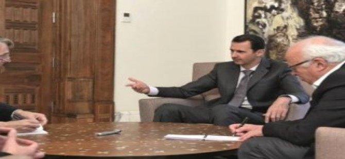Esad'dan Putin'e övgü dolu sözler