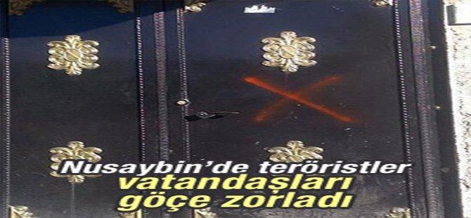 Nusaybin'de teröristler vatandaşları göçe zorladı