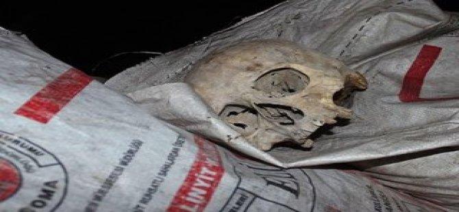 Çöpten Kafatası Çıktı