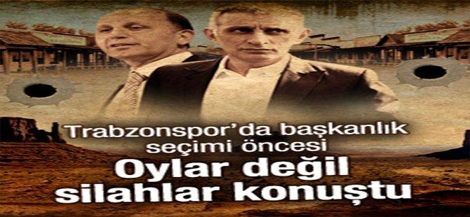 Trabzonspor'da kongre öncesi silahlar konuştu
