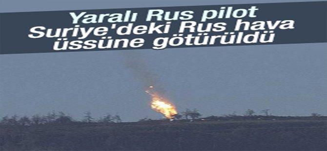 Rus pilottan birisi Suriye Ordusu'nun elinde