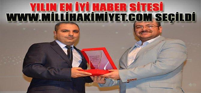 Yılın En İyi Haber Sitesi www.millihakimiyet.com Seçildi
