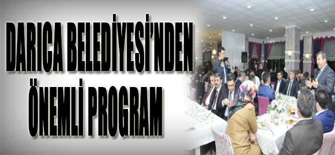 Darıca Belediyesi'nden Önemli Program