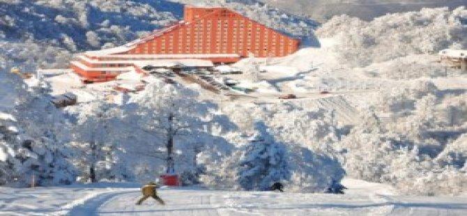 Kartepe'ye İlk Kar Düştü