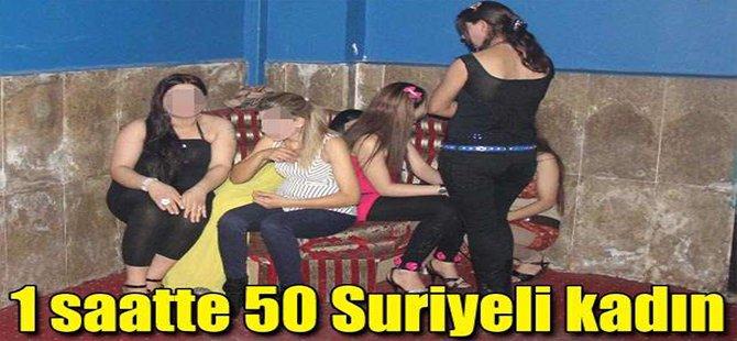 1 saatte 50 Suriyeli Kadın...