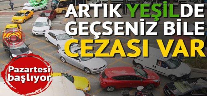 Trafikte yeni dönem: Kavşağı kilitleyene ceza geliyor