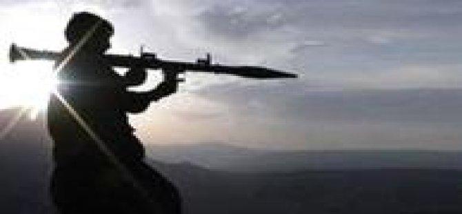 Diyarbakır'da karakola roketli saldırı