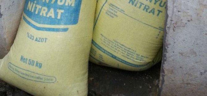 Asker çuval çuval bomba buldu