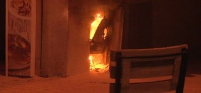 Başbakanlık Ofisi Yakınında Yangın!