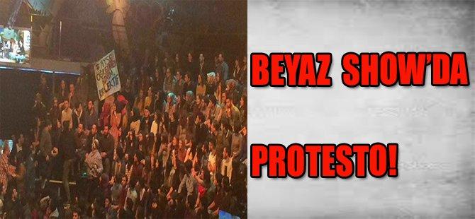 Beyaz Show'da protesto