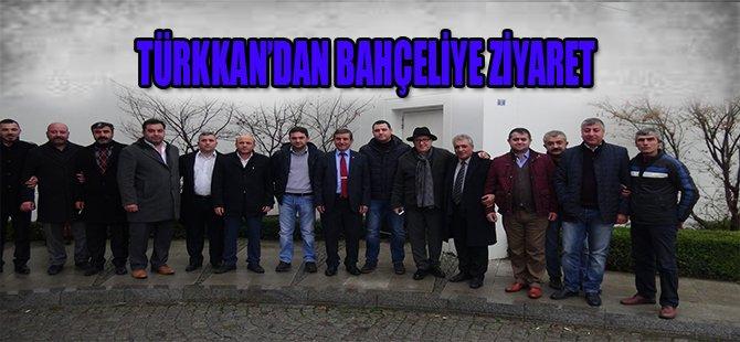 TÜRKKAN'DAN BAHÇELİYE ZİYARET