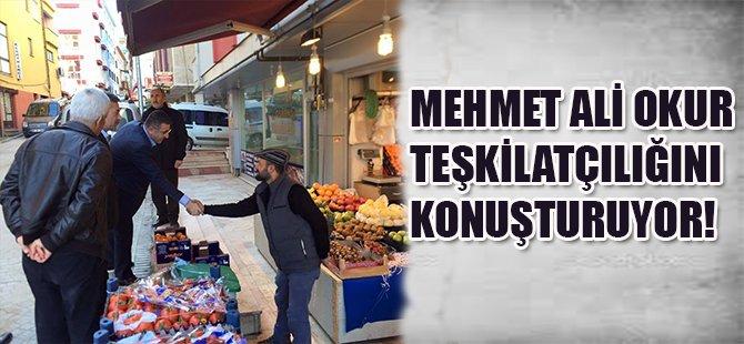 Mehmet Ali Okur Teşkilatçılığını Konuşturuyor!