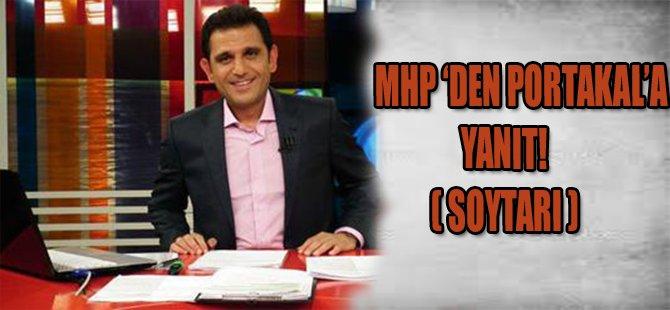 "MHP'den Fatih Portakal'a: ""Soytarı"""