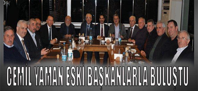 Cemil Yaman Eski Başkanlarla Buluştu