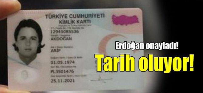 Tayyip Erdoğan onayladı! Tarih oluyor