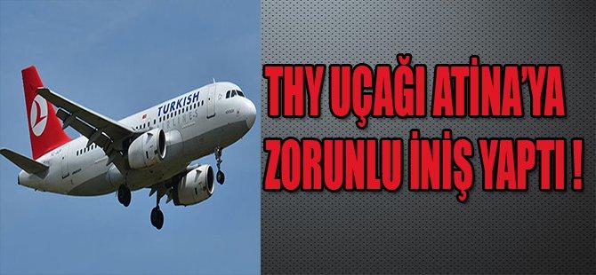 THY UÇAĞI ATİNA'YA ZORUNLU İNİŞ YAPTI !
