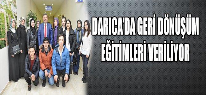 DARICADA GERİ DÖNÜŞÜM EĞİTİMLERİ VERİLİYOR
