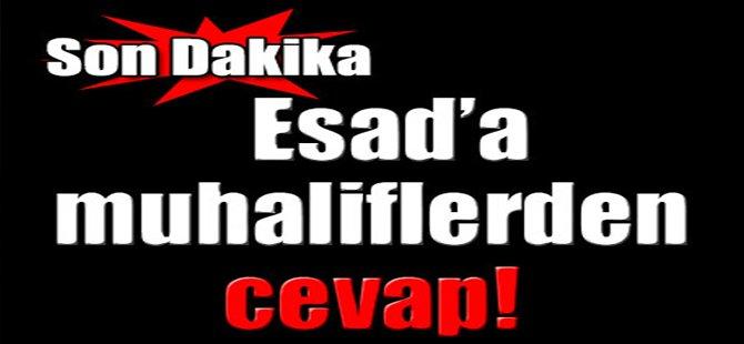 Esad' Muhaliflerden Cevap!
