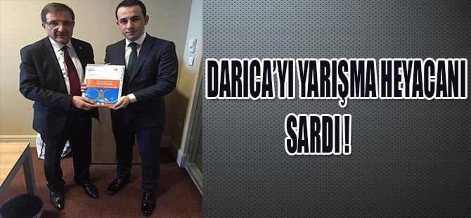 DARICA'YI YARIŞMA HEYACANI SARDI !