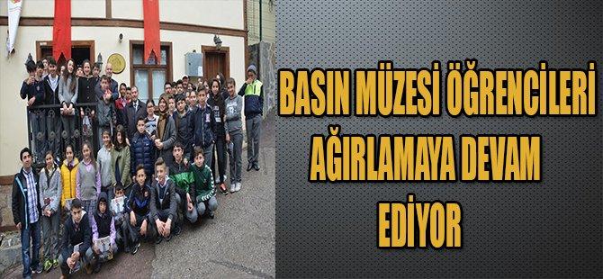 Basın Müzesi, Öğrencileri   Ağırlamaya Devam Ediyor