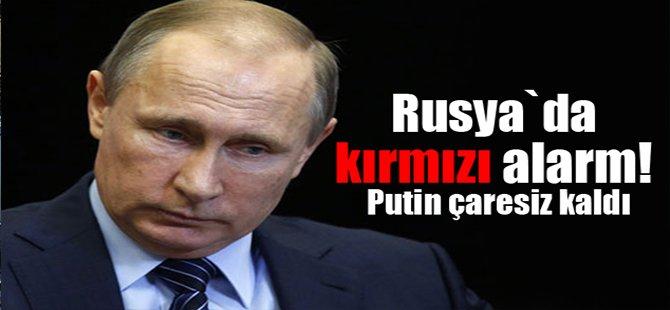 Rusya`da kırmızı alarm! Putin çaresiz kaldı