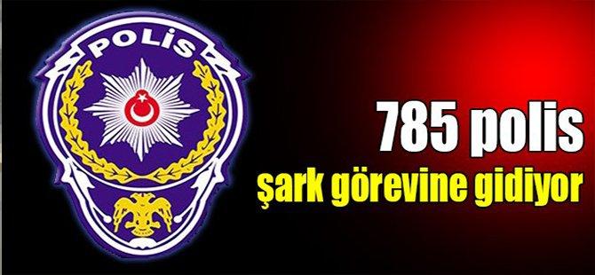 Kocaeli'den 785 polis şark görevine gidiyor