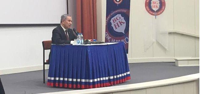Arınç'tan Erdoğan'a Görülmemiş Tepki