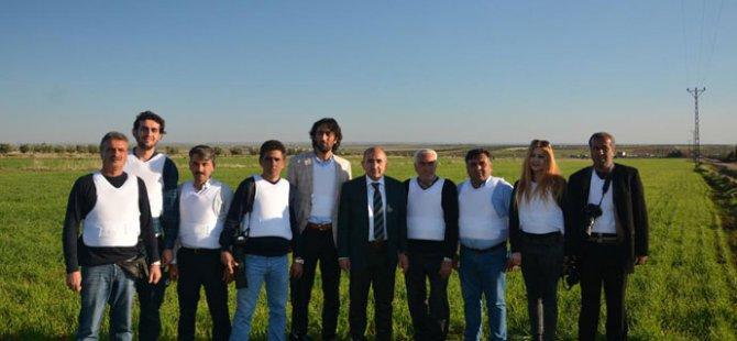 Belediye Başkanından Gazetecilere Çelik Yelek