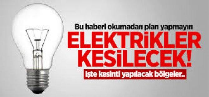 Dikkat! Elektrik Kesintisi Var!