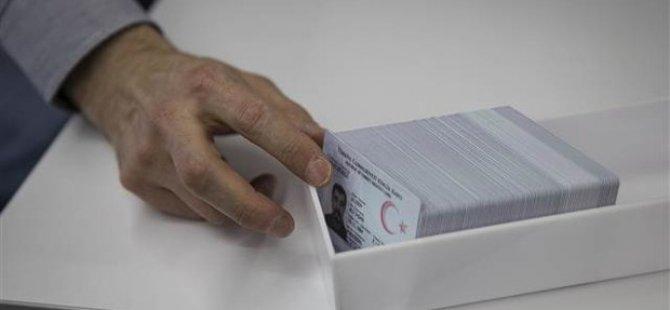 Pin Kodlu Yeni Kimlikler Pazartesi Dağıtılmaya Başlanacak