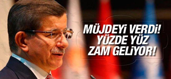 Davutoğlu'dan sağlık çalışanlarına müjde!