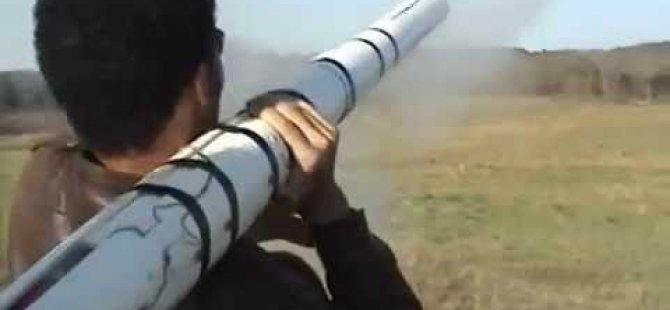 Suriye'den Atılan Roket Mermisi Jandarma Lojmanı Bahçesine Düştü