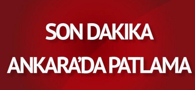 Ankara'da Patlama !