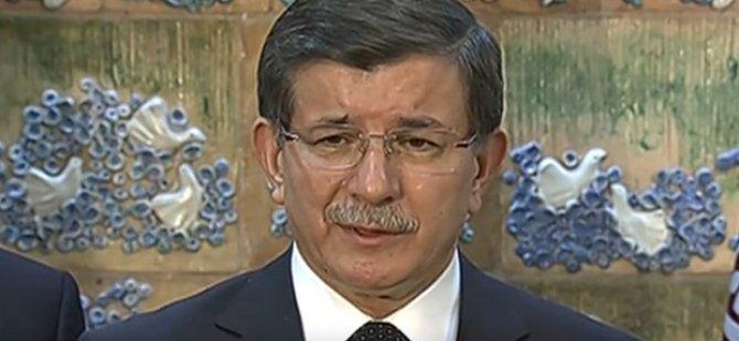 Başbakan Davutoğlu: Sayın Bahçeli'ye teşekkür ettim çünkü...