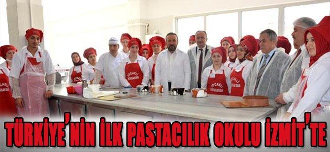Türkiye'nin İlk Pastacılık Okulu İzmit'te