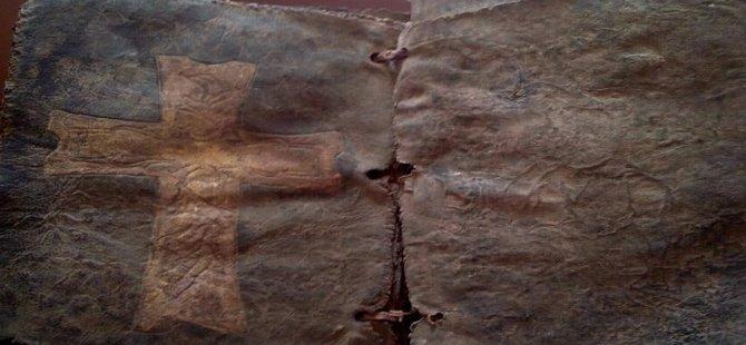 1500 yıllık İncil Düzce'de ele geçirildi