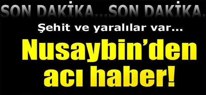 Nusaybin'den Acı Haber!