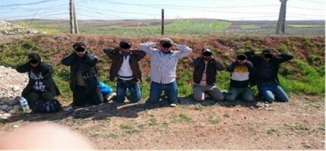 Türkiye'ye Geçmeye Çalışan Canlı Bomba Yakalandı