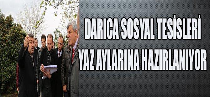 DARICA SOSYAL TESİSLERİ YAZ AYLARINA HAZIRLANIYOR