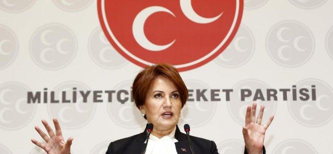 Akşener: MHP İktidarında Terörün Beli 6 Ayda Kırılır