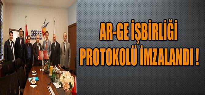 AR-GE İŞBİRLİĞİ PROTOKOLÜ İMZALANDI !