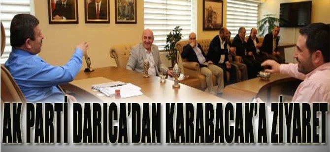 Ak Parti Darıca'dan Karabacak'a Ziyaret
