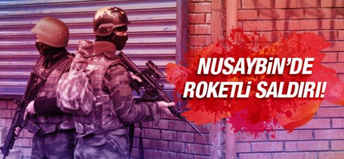 Nusaybin'de roketli saldırı! Çok sayıda yaralı var...