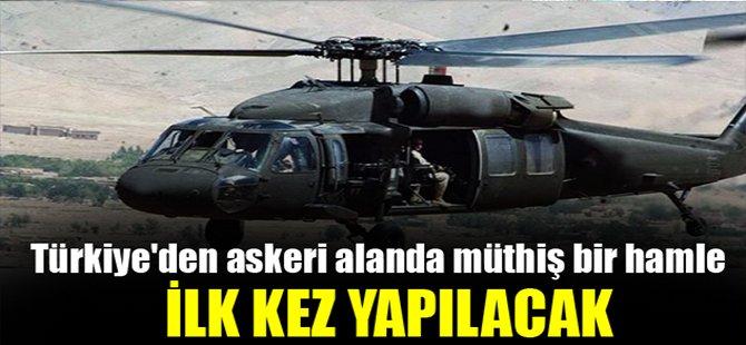 Türkiye'den askeri alanda müthiş bir hamle