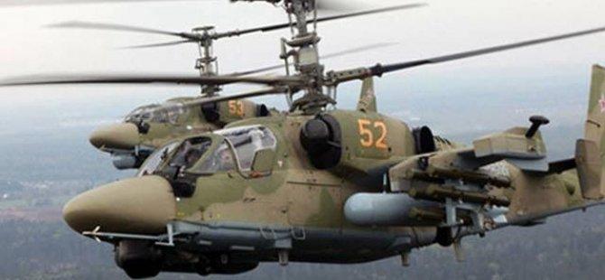 Suriye'de Rus Helikopteri Düştü, 2 Pilot Öldü
