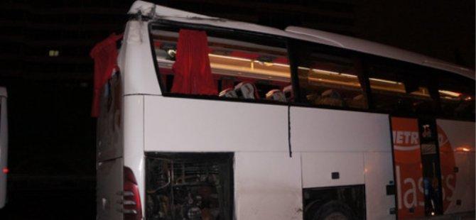 Otobüs Dehşet Saçtı: 1 Ölü, 4 Yaralı