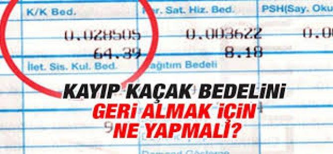 Elektrik Faturalarına Dikkat!!!