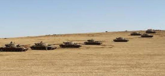 Sınıra Tank sevkıyatı!