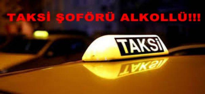ALKOLÜ TAKSİCİ