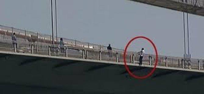 Boğaz Köprüsünde İntihar!!!